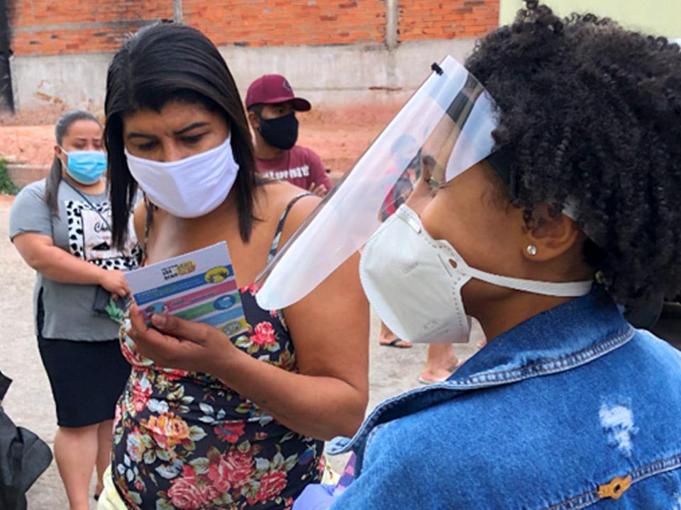 Feira Solidária promovida pelo Projeto Preta